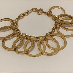 JCrew brass ring bracelet